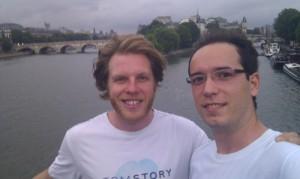 3Desk Founders, Tom Savage and Razvan Dinu