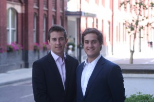 Rob and Felix, founders of Instant-Impact