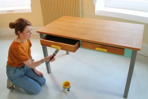 Interview with Amy Dolan, founder Ziggy Sawdust, an award-winning furniture redesign business