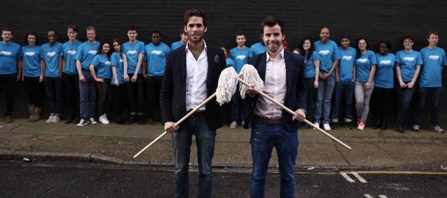 Pete Dowds and Tom Brooks founders of mopp.com talk to The Startup Magazine