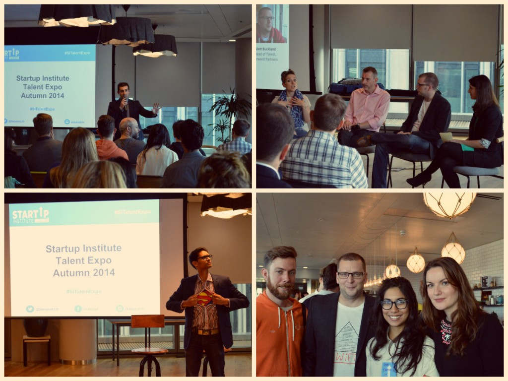 The Startup Institute Talent Expo at WeWork London