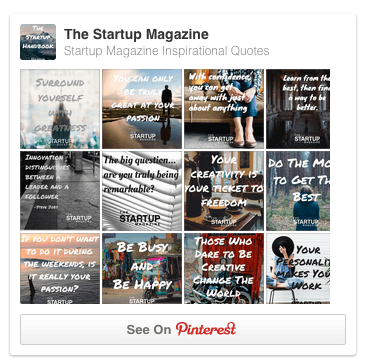 The Startup Magazine Inspirational Quotes