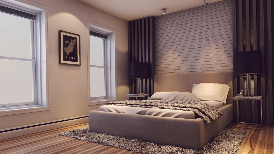 Online design modern bedroom Mladen