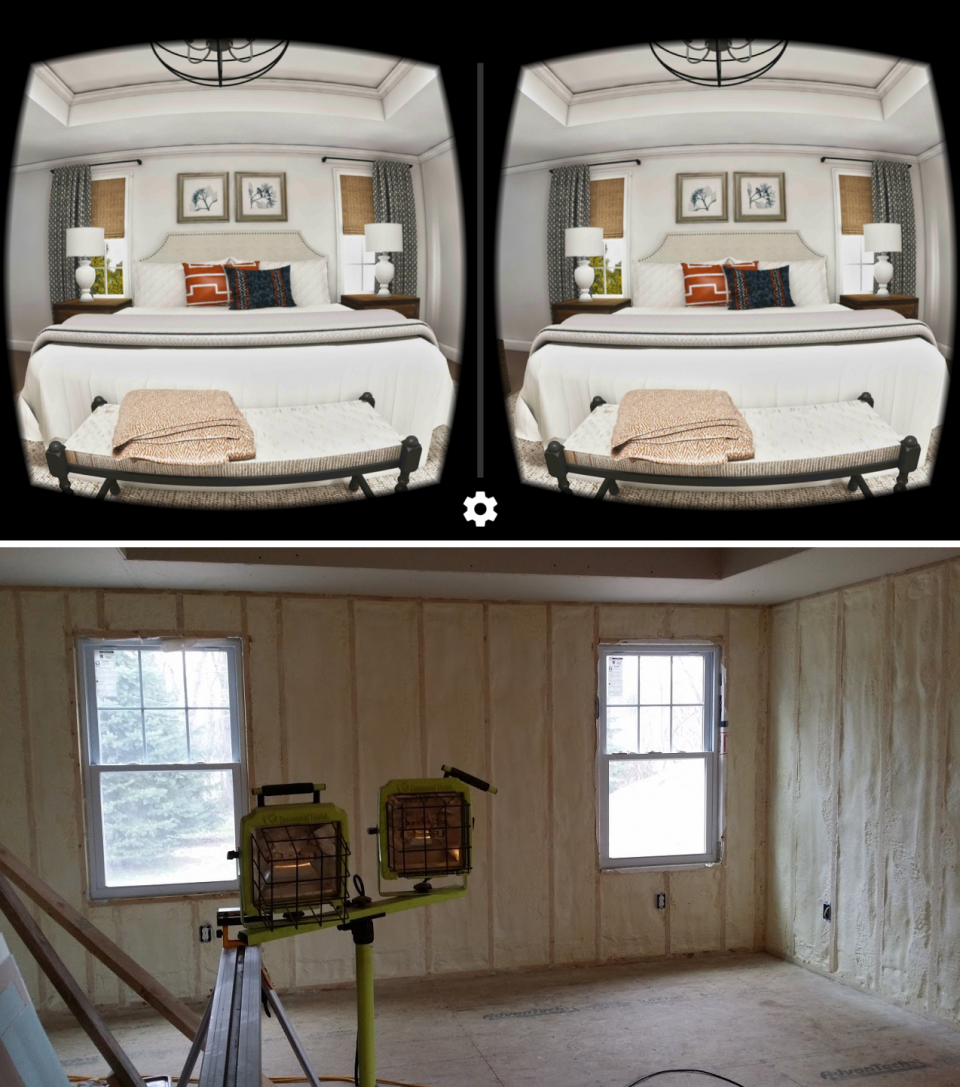 Virtual reality and actual