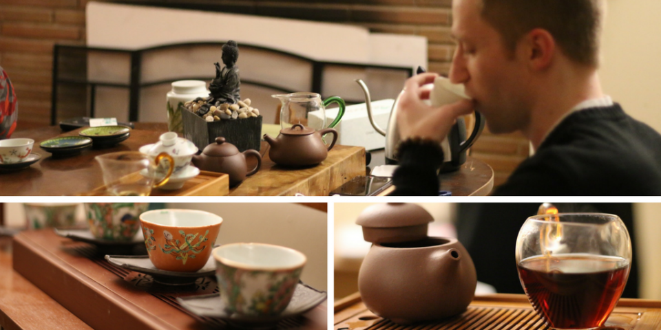 Tea Contemplation