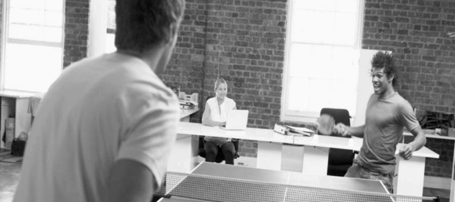 Ping Pong is Not Just For Silicon Valley Startups
