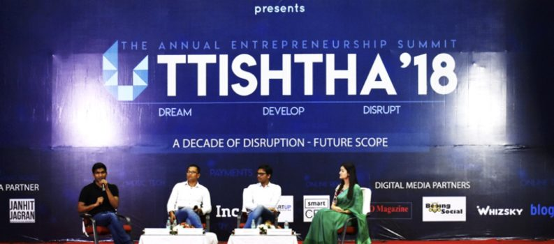 A Decade of Disruption – Future Scope at Uttishtha 2018