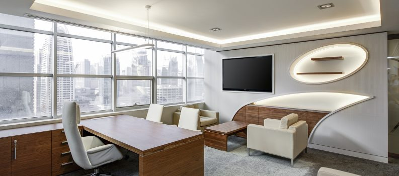 How much is invested into business refurbishment projects?