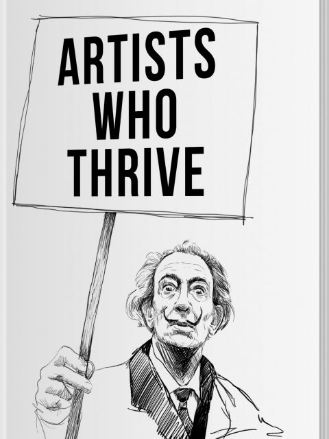 """Author Interview: Empowerment for Artists, Erin Minckley on """"Artists Who Thrive"""""""