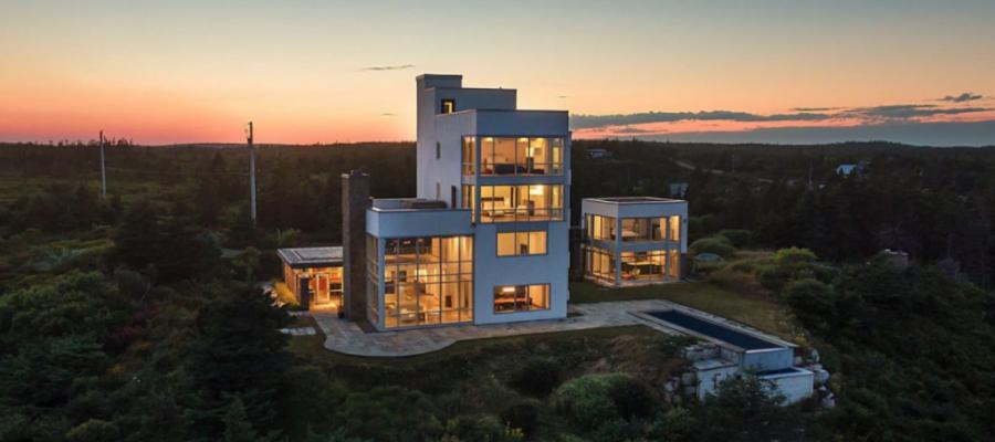 Bidding To Open for Concierge Auctions Canada Coastal Estate