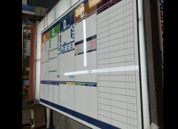 whiteboard exhibit